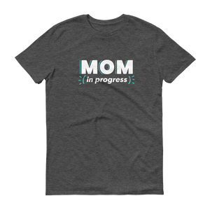 Mom In Progress Logo T-Shirt