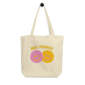 BuzzFeed Happy Faces Best Friend Day Tote Bag