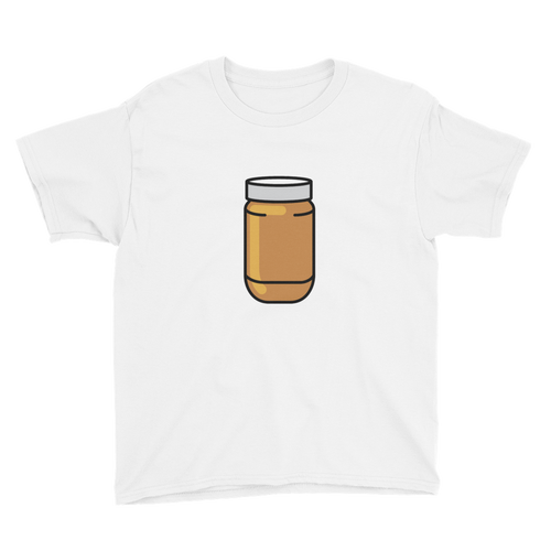 BuzzFeed Peanut Butter Jar Best Friend Day Youth T-Shirt