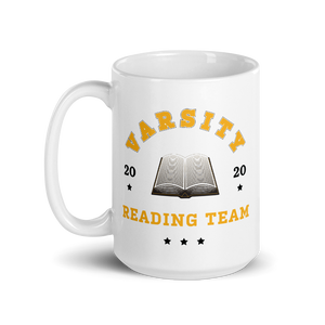 BuzzFeed Varsity Reading Team Book Day Mug