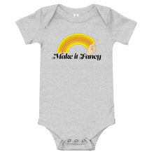 Load image into Gallery viewer, Make It Fancy Finger Wave Baby Onesie