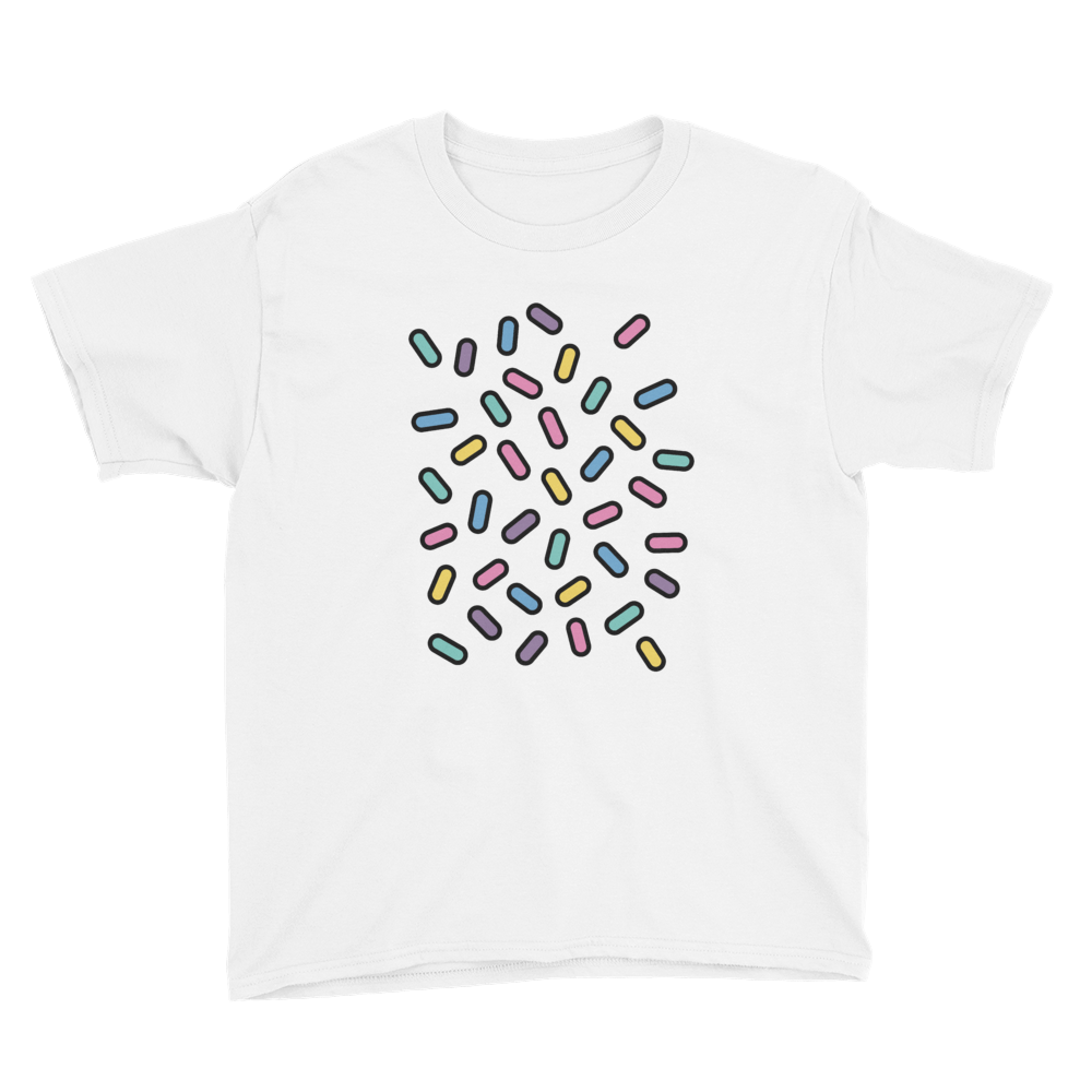 BuzzFeed Sprinkled Sprinkles Best Friend Day Youth T-Shirt