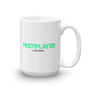Multiplayer By BuzzFeed GG Emote Mug