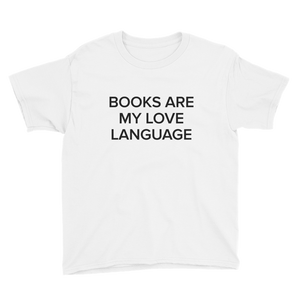BuzzFeed Love Language Book Day Youth T-Shirt