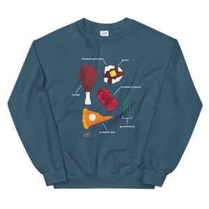 Tasty Thanksgiving Feast Sweatshirt