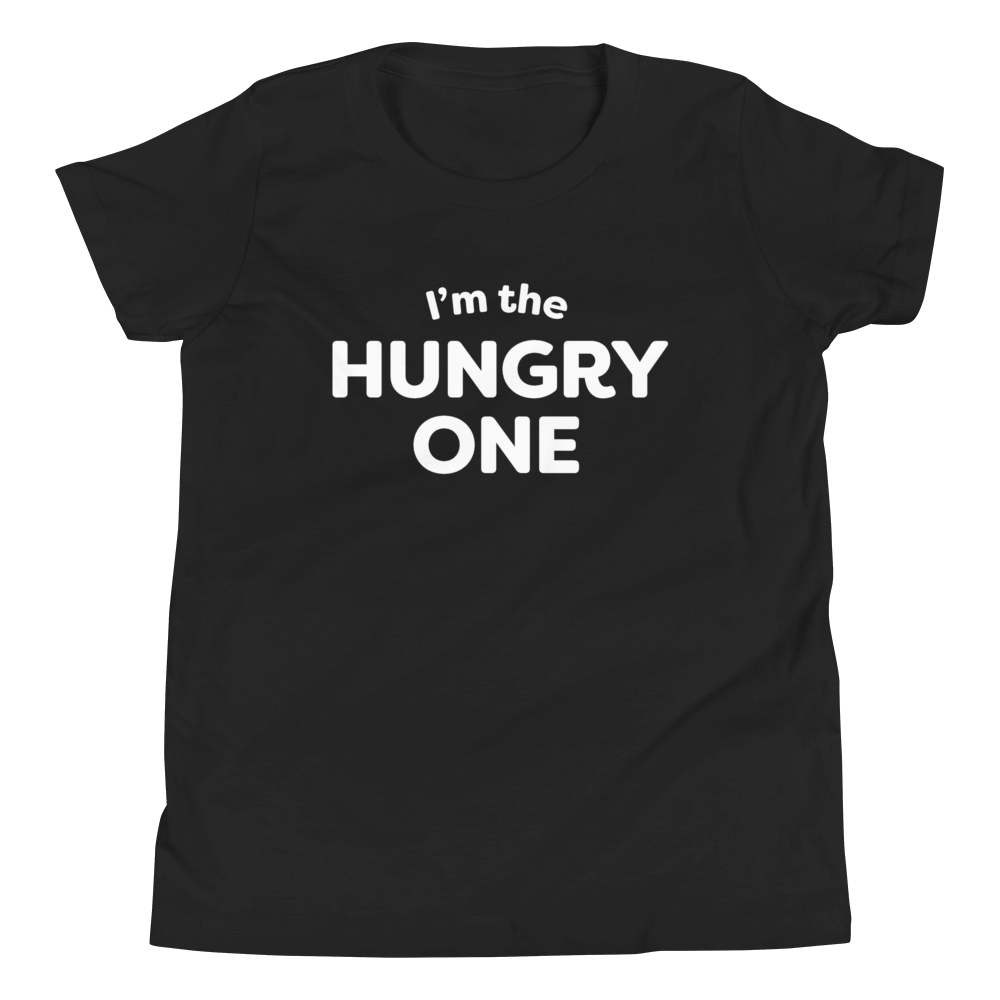 Mom In Progress Hungry One Youth T-Shirt