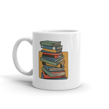 Load image into Gallery viewer, BuzzFeed Stack O' Books Book Day Mug