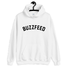 Load image into Gallery viewer, BuzzFeed Collegiate Logo Hooded Sweatshirt