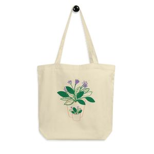 BuzzFeed Plant Love Mother's Day Tote Bag