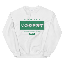 Load image into Gallery viewer, Worth It Thank You For This Meal Sweatshirt