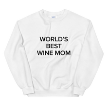 Load image into Gallery viewer, BuzzFeed Wine Mom Mother's Day Sweatshirt