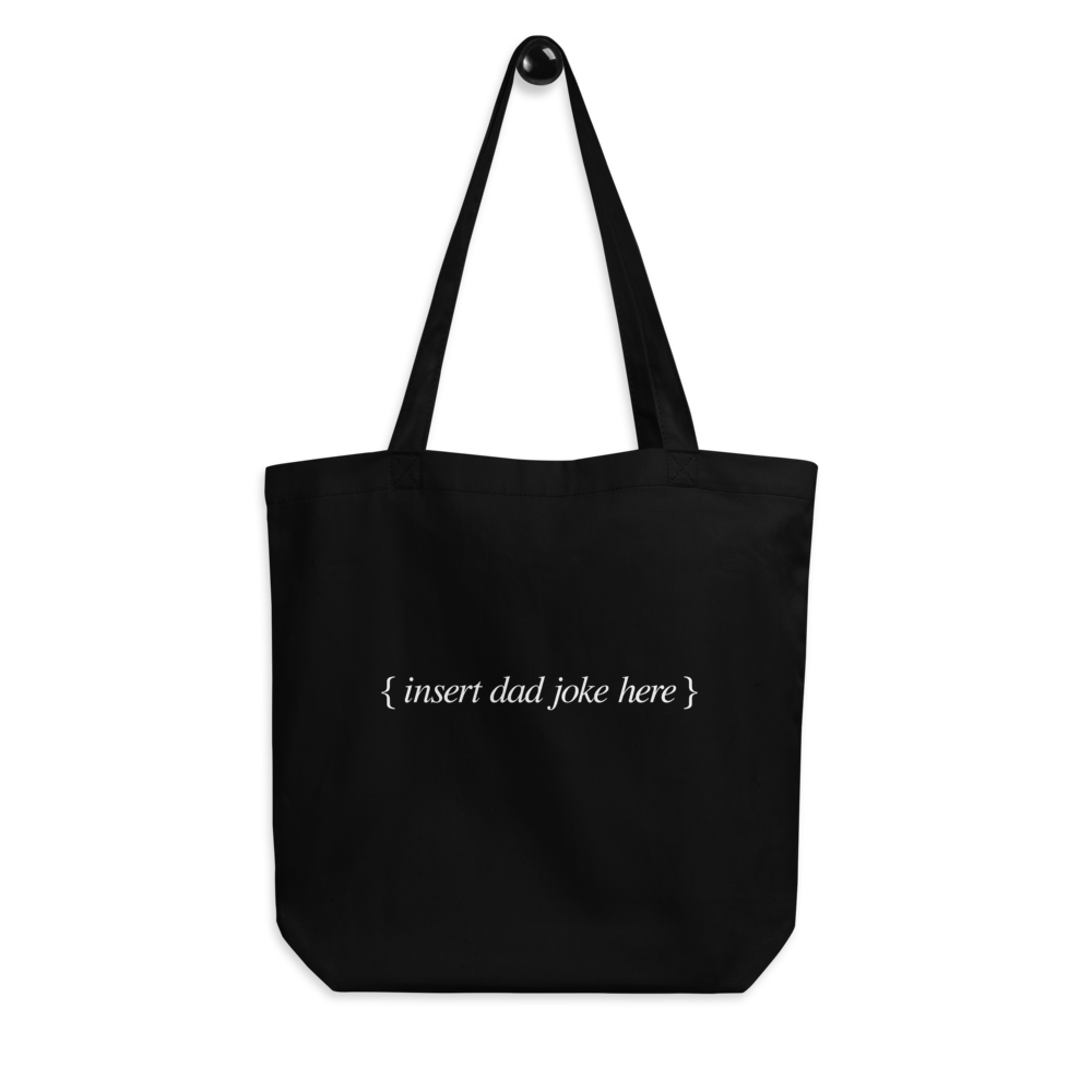 BuzzFeed Dad Joke Father's Day Tote Bag