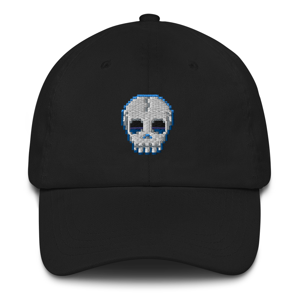 Multiplayer By BuzzFeed Skull Emote Dad Hat