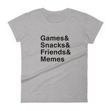 Load image into Gallery viewer, Multiplayer By BuzzFeed Games & Women's T-Shirt