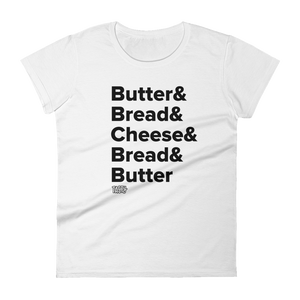 Tasty Grilled Cheese Recipe Women's T-Shirt