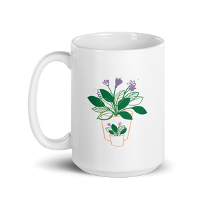 BuzzFeed Plant Love Mother's Day Mug