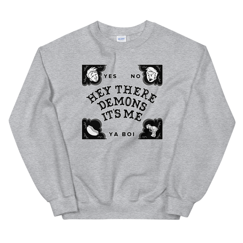 BuzzFeed Unsolved Hey There Demons Board Sweatshirt