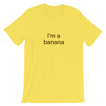 Load image into Gallery viewer, BuzzFeed Banana Halloween Costume T-Shirt
