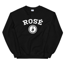 Load image into Gallery viewer, BuzzFeed Rosé Collegiate Wine Day Sweatshirt