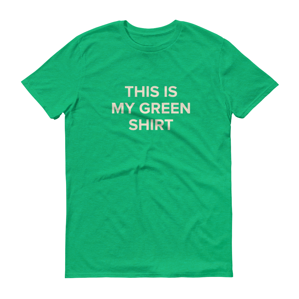 BuzzFeed St. Patrick's Day Green T-Shirt
