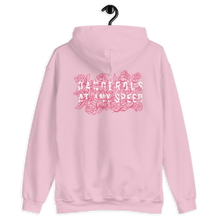 Load image into Gallery viewer, Kelsey Dangerous Dangerous At Any Speed Roses 2-Sided Hooded Sweatshirt