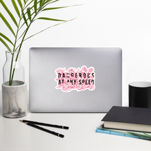 Load image into Gallery viewer, Kelsey Dangerous Dangerous At Any Speed Roses Sticker