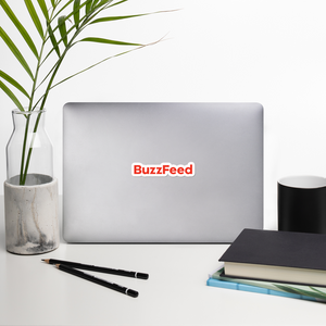 BuzzFeed Logo Sticker