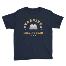 Load image into Gallery viewer, BuzzFeed Varsity Reading Team Book Day Youth T-Shirt
