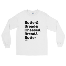 Load image into Gallery viewer, Tasty Grilled Cheese Recipe Long Sleeve T-Shirt