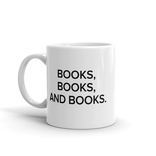 BuzzFeed Books, Books Book Day Mug
