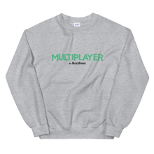 Load image into Gallery viewer, Multiplayer By BuzzFeed Logo Sweatshirt