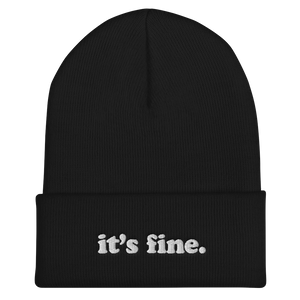 Kelsey Dangerous It's Fine Winter Beanie