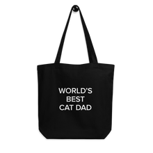 Load image into Gallery viewer, BuzzFeed Cat Dad Father's Day Tote Bag