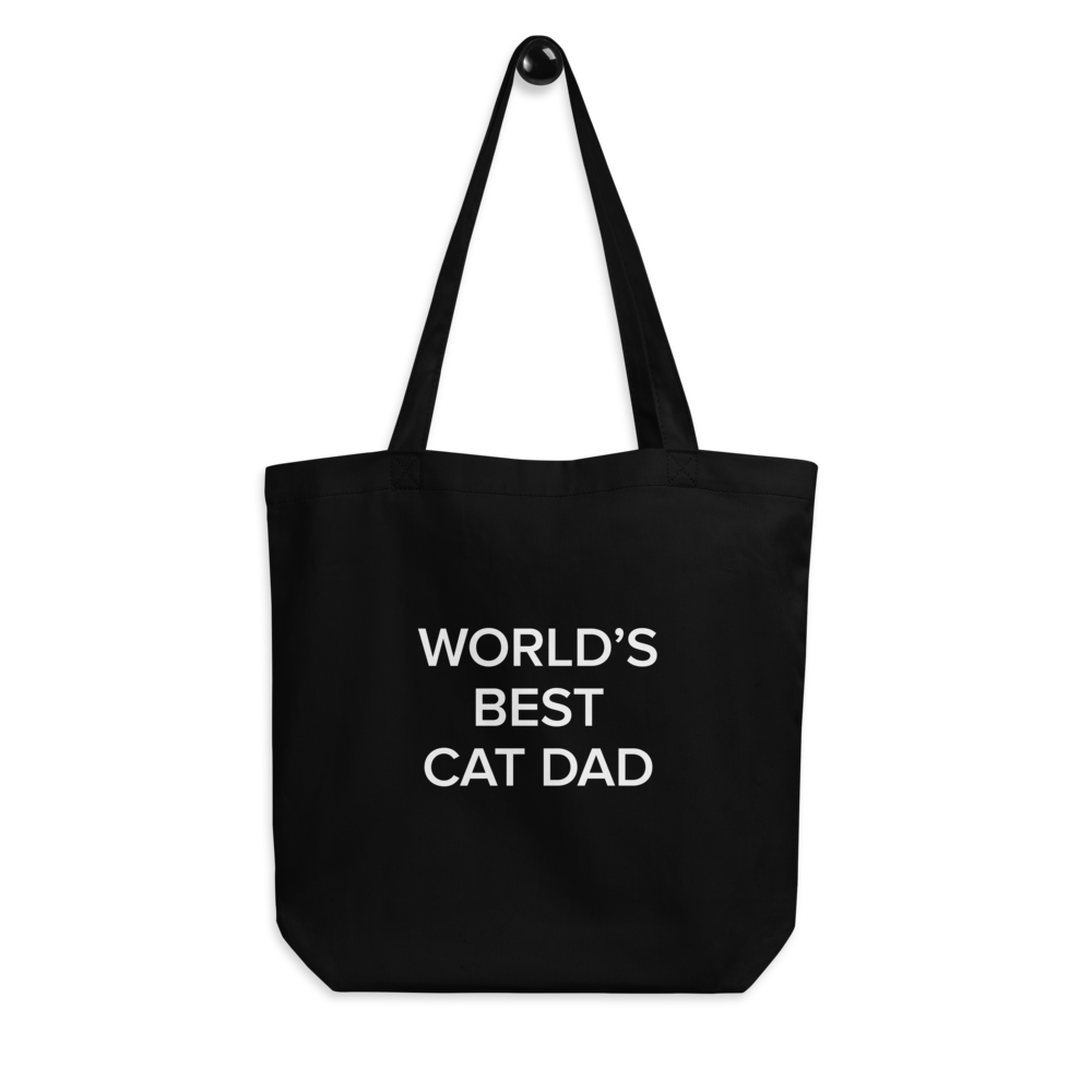 BuzzFeed Cat Dad Father's Day Tote Bag