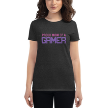 Load image into Gallery viewer, Multiplayer By BuzzFeed Proud Mom Gamer Women's T-Shirt