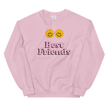Load image into Gallery viewer, BuzzFeed Happy Faces Best Friend Day Sweatshirt