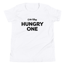 Load image into Gallery viewer, Mom In Progress Hungry One Kids T-Shirt