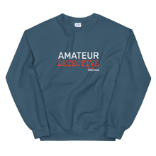 Load image into Gallery viewer, BuzzFeed Unsolved Amateur Detective Sweatshirt