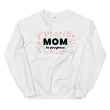 Load image into Gallery viewer, Mom In Progress Sketch Logo Sweatshirt