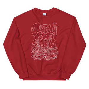 Worth It Taste Test Crew Sweatshirt