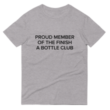 Load image into Gallery viewer, BuzzFeed Finish A Bottle Club Wine Day T-Shirt