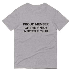 BuzzFeed Finish A Bottle Club Wine Day T-Shirt
