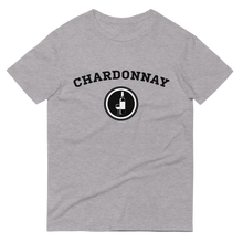 Load image into Gallery viewer, BuzzFeed Chardonnay Collegiate Wine Day T-Shirt