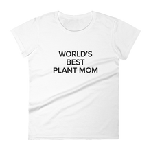 Load image into Gallery viewer, BuzzFeed Plant Mom Mother's Day Women's T-Shirt