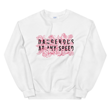Load image into Gallery viewer, Kelsey Dangerous Dangerous At Any Speed Roses Sweatshirt