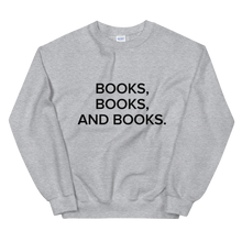 Load image into Gallery viewer, BuzzFeed Books, Books Book Day Sweatshirt
