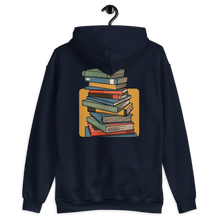 Load image into Gallery viewer, BuzzFeed Stack O' Books Book Day 2-Sided Hooded Sweatshirt