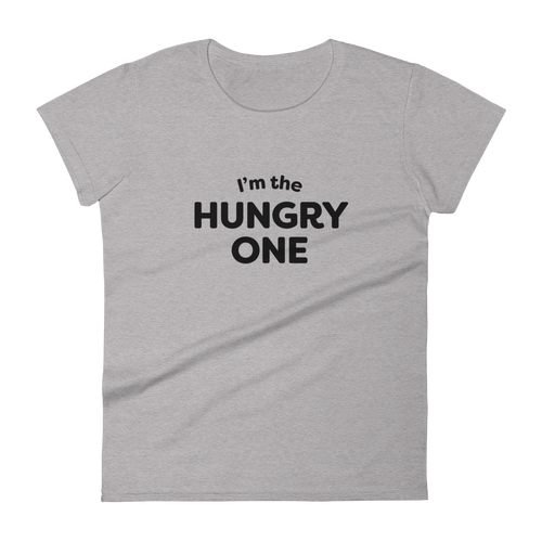 Mom In Progress Hungry One Women's T-Shirt