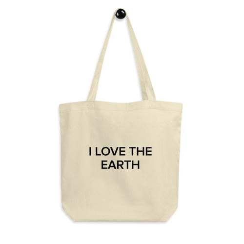BuzzFeed I Love The Earth Earth Day Tote Bag
