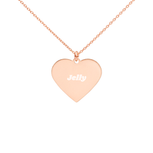 Load image into Gallery viewer, BuzzFeed Jelly Best Friend Day Heart Necklace